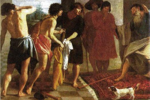 Картина Диего Веласкеса «Одежда Иосифа» и А. А. Иванова «Иосиф ...