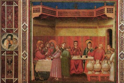фреска джотто брак в кане описание искусство реферат доклад
