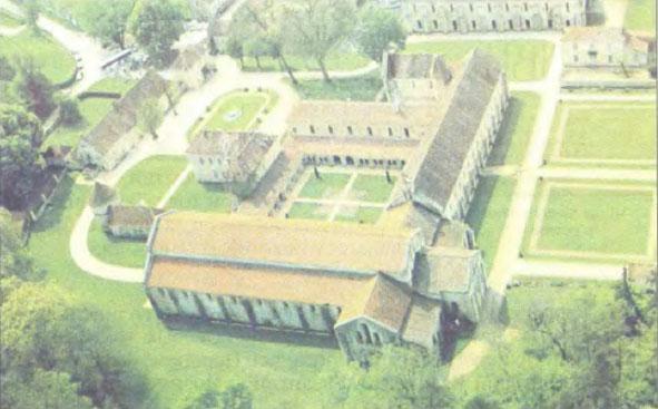 Христианство и культура в Средние века История Реферат доклад  Средневековый монастырь