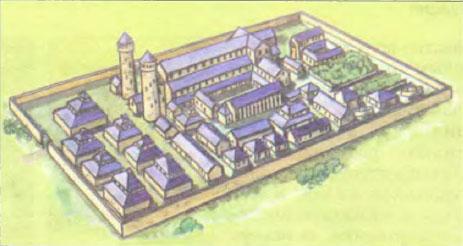 Реферат на тему средневековый монастырь европы 9351