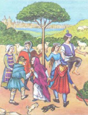 Сельские праздники в Средние века История Реферат доклад  Сельские праздники в Средние века