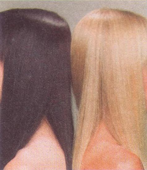 Генетика отдельных признаков у человека Биология Реферат  Типичный пример доминантного чёрные волосы и рецессивного светлый блондин признаков у человека