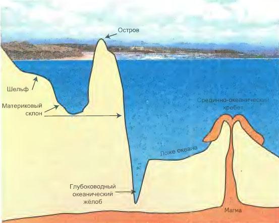 Реферат на тему рельеф дна мирового океана 7633